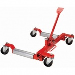 Wheel dolly with lever lift 2.